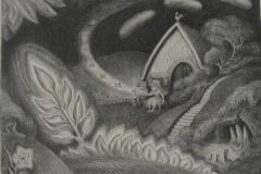 Wanda Gag Fairy Lithograph