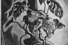 Wanda Gag Philodendrum Lithograph