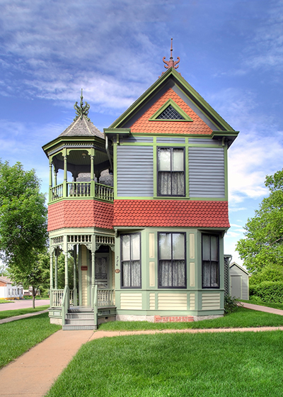 Wanda Gag House is home of the Gag family art collection in New Ulm, Minnesota.